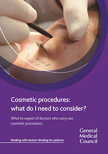 Cosmetic procedures patientguide cover