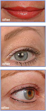 Semi Permanent Make-up After Images